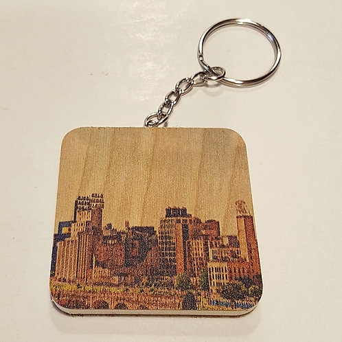 Mill City Keychain