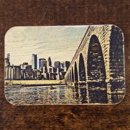 Stone Arch Bridge Magnet