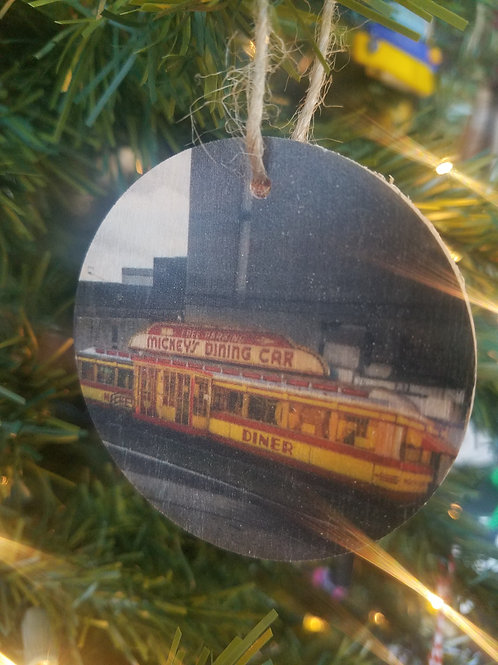 Mickey's Diner Ornament