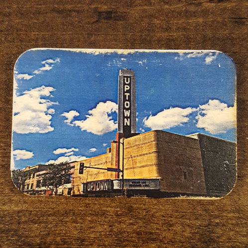 Uptown Theatre Marquee Magnet