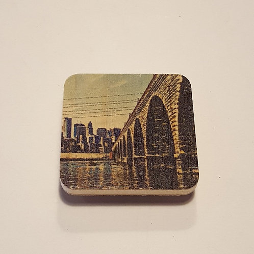 Stone Arch Bridge Magnet