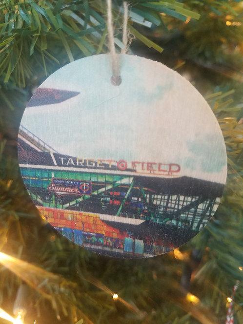 Target Field Ornament