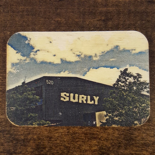 Surly Brewery Magnet