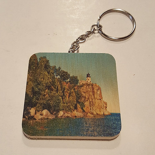 Split Rock Lighthouse Keychain
