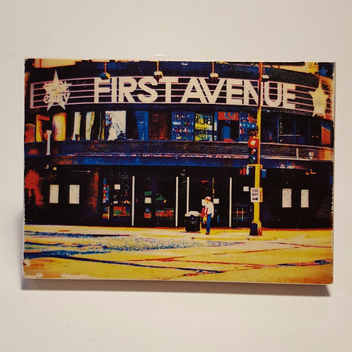 First Avenue Wood Block