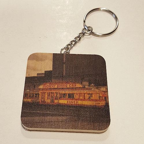 Mickey's Diner Keychain