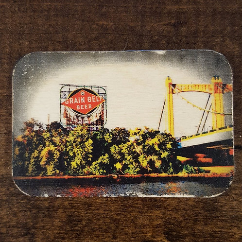 Grain Belt Beer Magnet