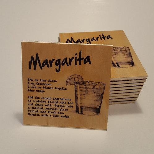 Margarita Cocktail Coaster