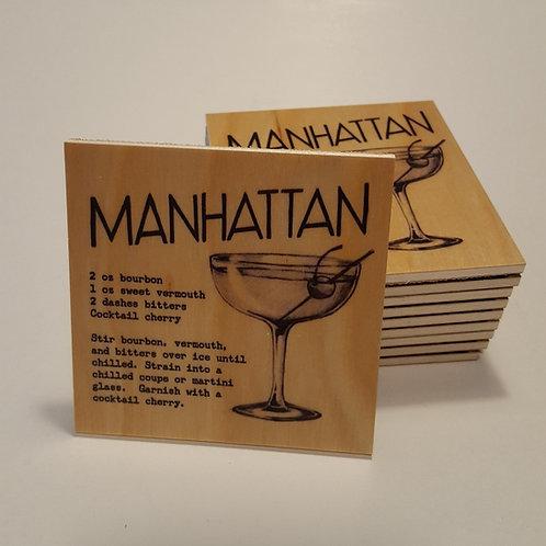 Manhattan Cocktail Coaster