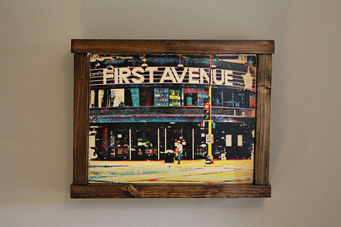 "8x10"" First Ave Wall Art - Color"