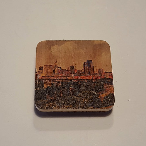Saint Paul Skyline Magnet