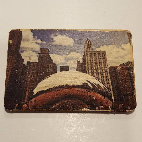 Chicago Bean Magnet
