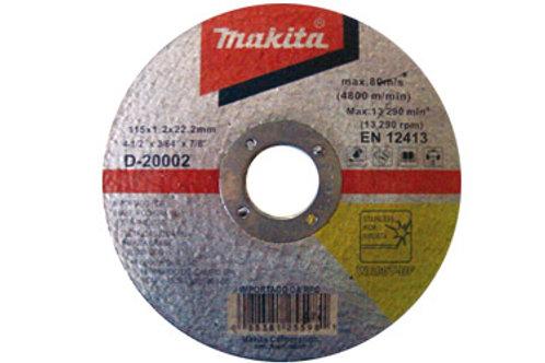 "DISCO CORTE INOX 4"" D-20002 MAKITA NO RIO DE JANEIRO"