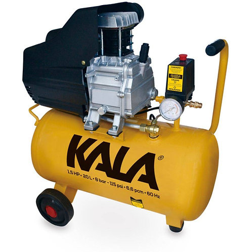 COMPRESSOR AR 1.5HP 20L 8BAR 220V KALA NO RIO DE JANEIRO