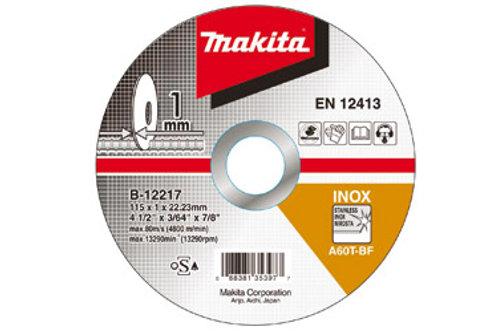 DISCO CORTE INOX 4(115X1,0X22,3)B-12217 MAKITA NO RIO DE JANEIRO