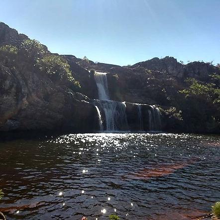 Cachoeira dos cristais _Parque do Biribi