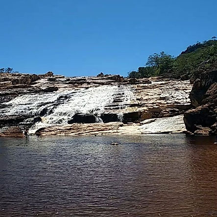 Expedição Diamantina MG_Cachoeira do Tel