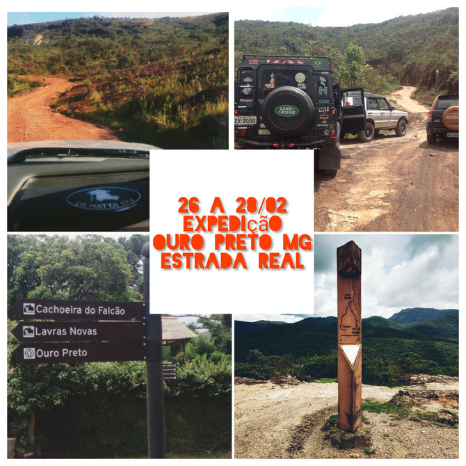 Expedição Ouro Preto MG