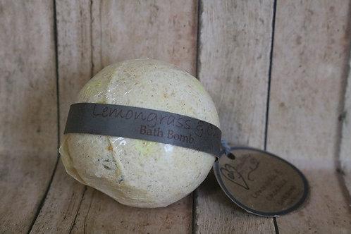 Lemongrass & Calendula Bath Bomb