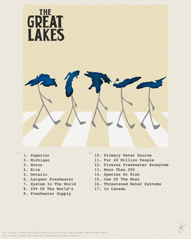 The Great Lakes by Jade