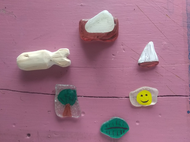 A Second Life For Sea Glass by Simon
