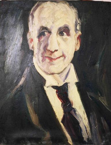 Portrait of Robert Vivian, actor