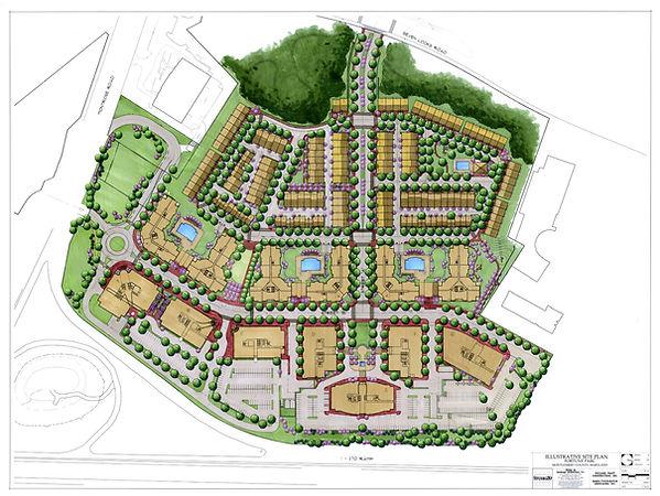 Park Potomac Site Plan Rendering  12-6-0