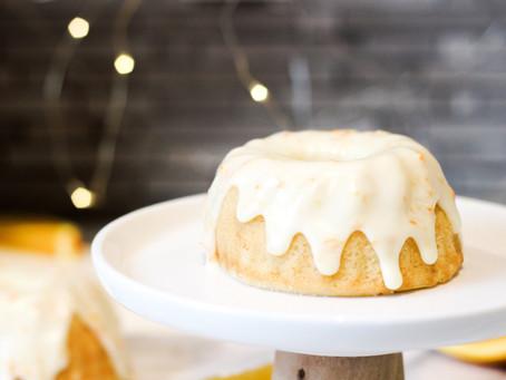 Mini Mimosa Bundt Cakes