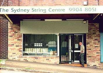 The Sydney String Centre Shop Circa 1997