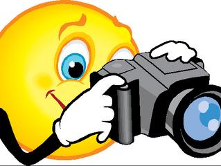 Fotograaf komt langs