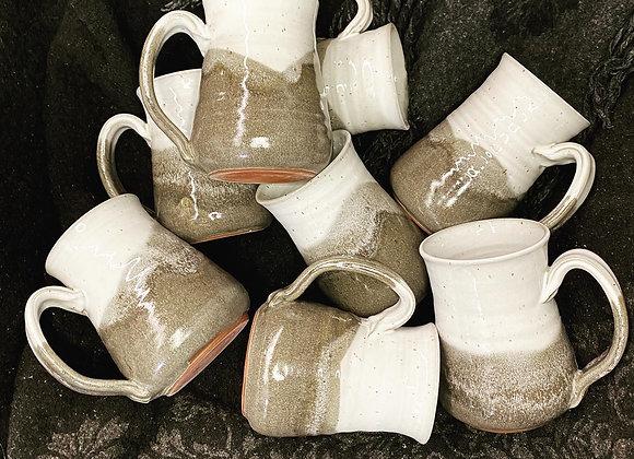 Grey & White Speckled Mug