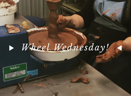 Wheel Throwing Wednesdays!