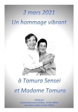 Hommage à Tamura Sensei et à Mme Tamura. Le compte rendu: