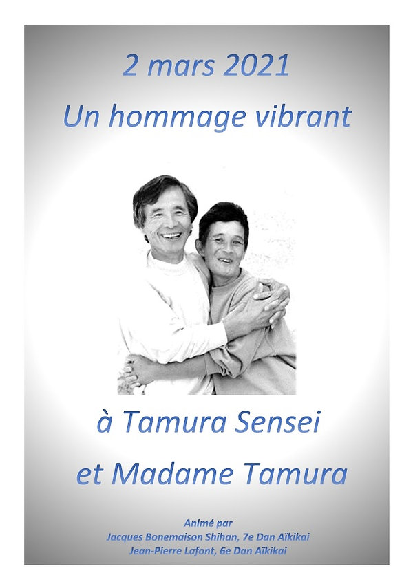 Hommage à Tamura Sensei et Mme TAMURA.jp