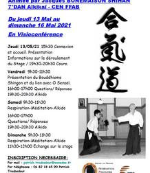 14 °Rencontre d'Aïkido de l'Ascension Animée par Jacques BONEMAISON SHIHAN- 7° Dan Aïkikaï, CEN FFAB
