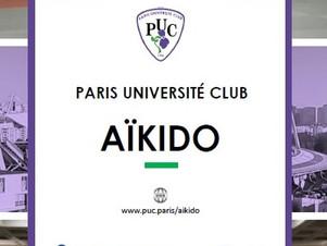 """Rentrée du """"Paris Aïkido Club"""" 14°Arr."""