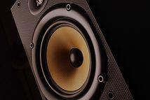 Lautsprecher im Studio