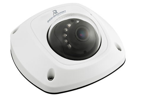 4MP Indoor Network Wedge Dome Camera