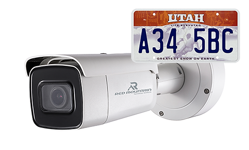 2MP Ultra Low Light ANPR (License Plate Reader)