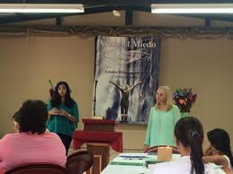 Conquer Fear, Capture Faith women's retreat.
