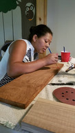 Craft time with Marleni.