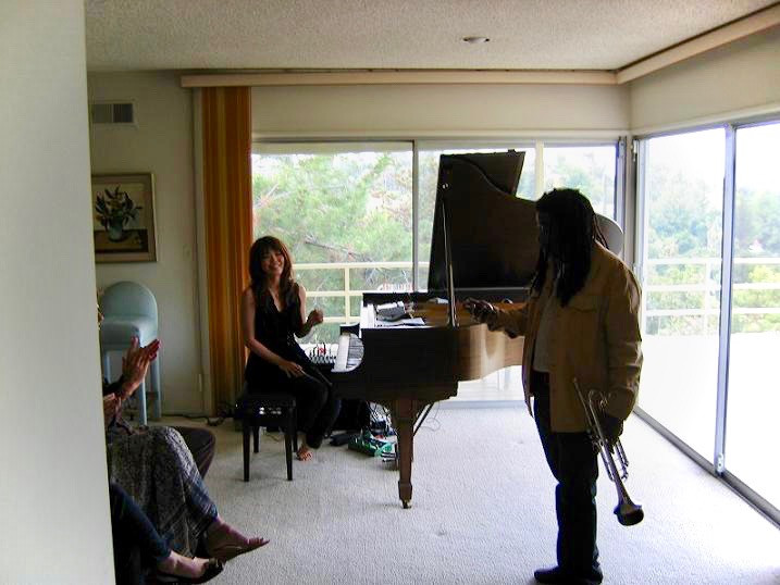 Motoko Honda and Wadada Leo Smith