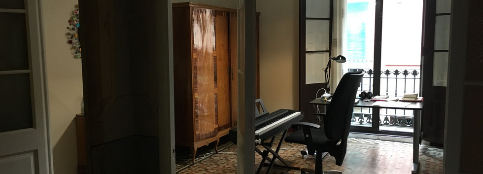 My room in Barcelona