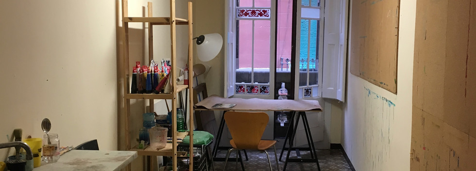 My art room in Barcelona