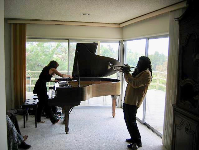 Motoko Honda and Wadada Leo Smith in concert