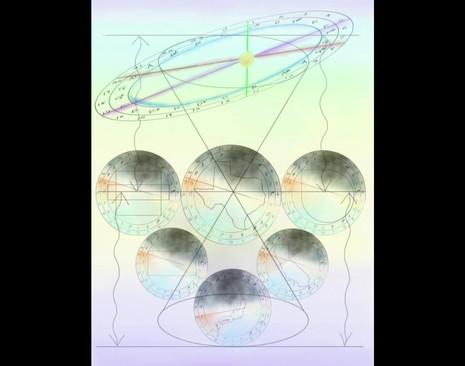 "Timelaps video of creating ""Entanglement"" by Motoko Honda"