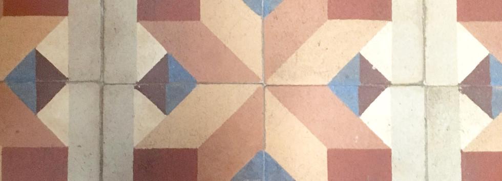 Tile of my room