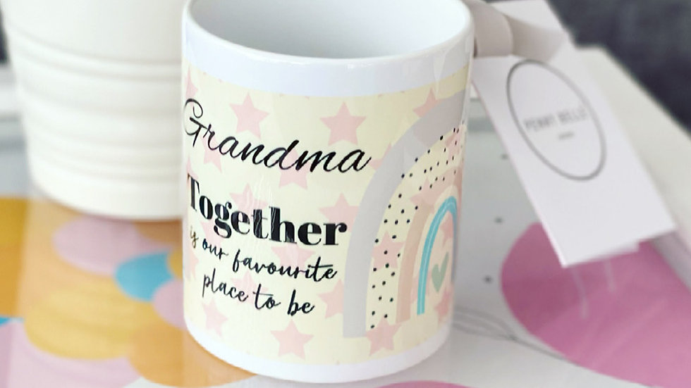 Together is our favourite place to be 11oz Mug
