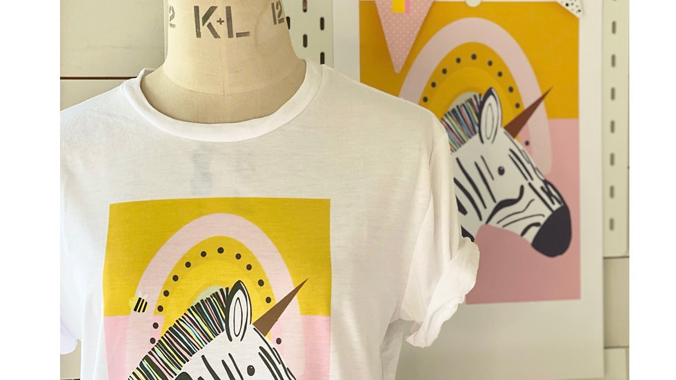Florence the Zebra T-shirt