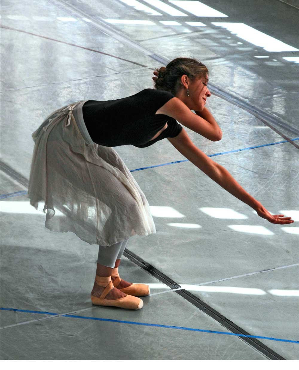 Rehearsing Cecile in Dangerous Liaisons, Northern Ballet